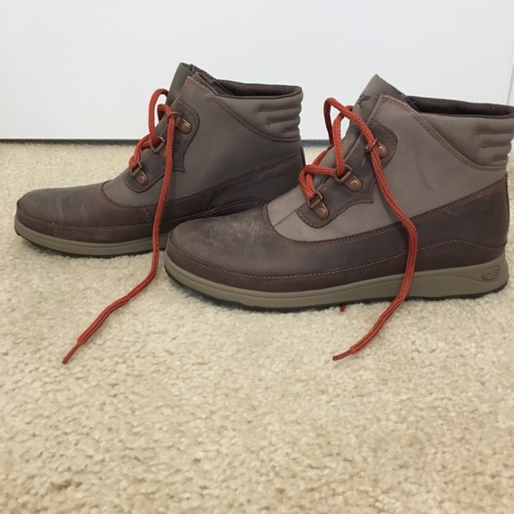 Nib Chaco Ember Caribou Boots Size